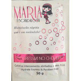Maria Escandalosa Sem Formol Progressiva no Chuveiro 50g