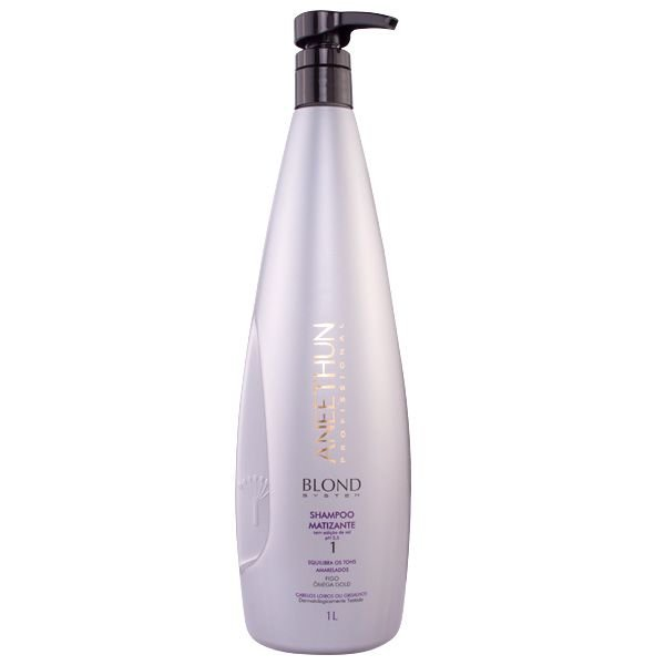 Aneethun Blond System Shampoo Matizador Profissional 1000ml
