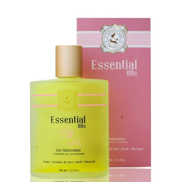 Óleo de Argan Essential Oils Eternity Liss 100ml + Brinde