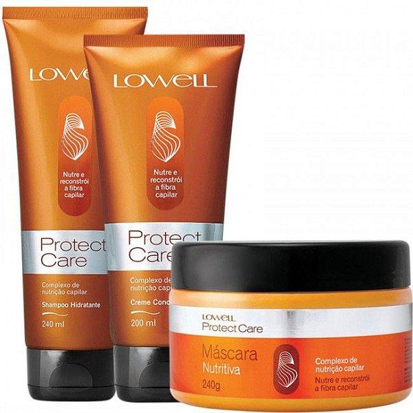 Lowell Protect Care Nutrição Kit 3 itens