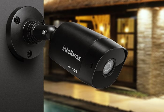 Câmera Bullet Infravermelho Multi HD Intelbras VHD 1220 B Full HD 1080p - Intelbras