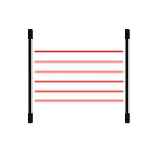 Sensor Infravermelho Ativo - Jfl Irb 1210 12 Feixes