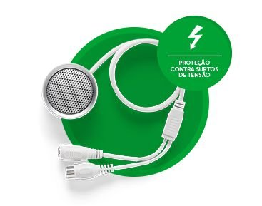 Microfone 3070 Intelbras