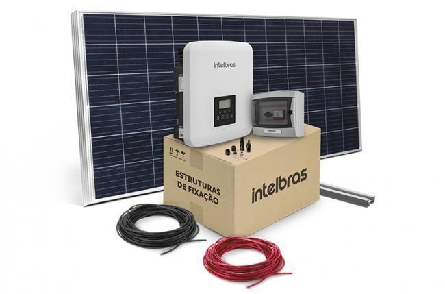 Gerador Fotovoltaico 17,82 kWp P/ Telhas em Gerais