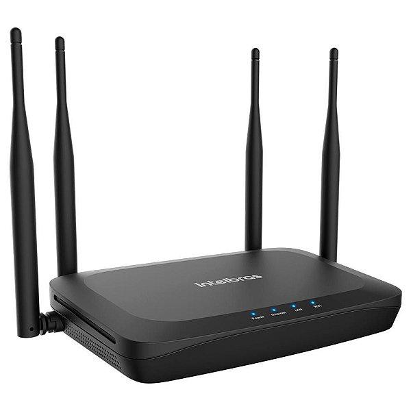 Roteador Wi-Fi 5 (dual band AC 1200) com porta WAN giga e LAN fast GF 1200 - Intelbras