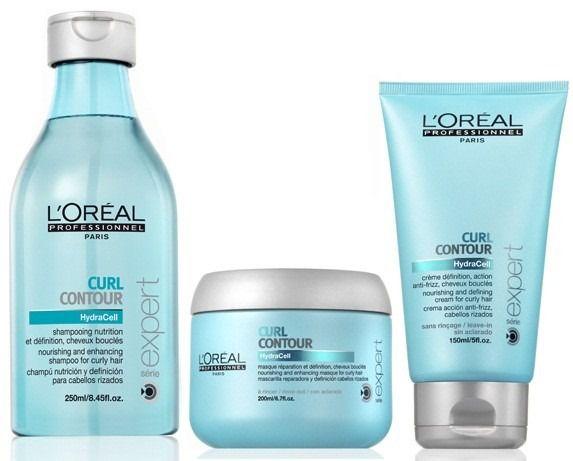 L'Oréal Professionnel Curl Contour Cachos Intensos Kit com 3 Produtos