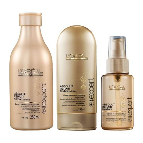 L'Oréal Professionnel Absolut Repair Cortex Lipidium Kit com 3 Produtos