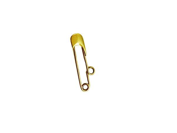 Broche Infantil em Ouro Amarelo 18k L 3.6