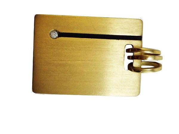 Pingente Ouro Amarelo 18k Medalha L 33.7