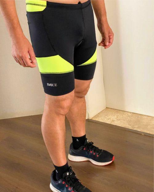 Shorts Fitness Corrida Compressão Masculino - Evouz