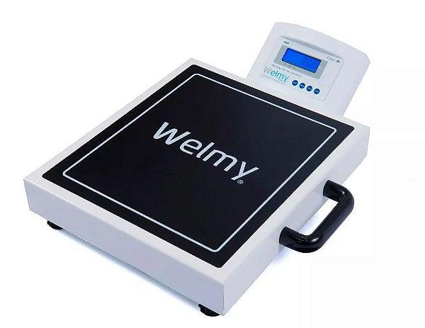 Balança Inmetro Profissional Portátil 200kg/50g W200m Welmy