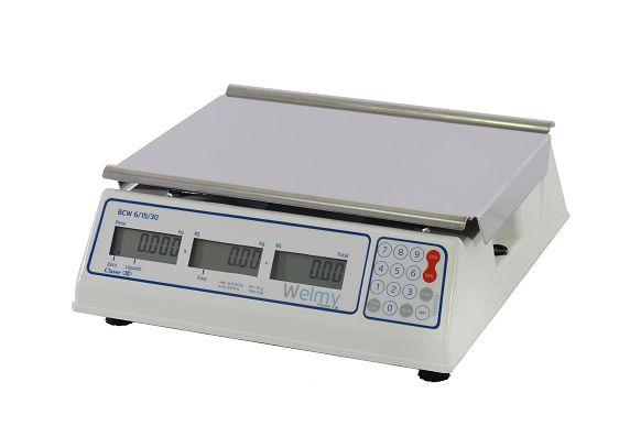 Balança Comercial BCW Tríplice LCD c/Bateria - Welmy