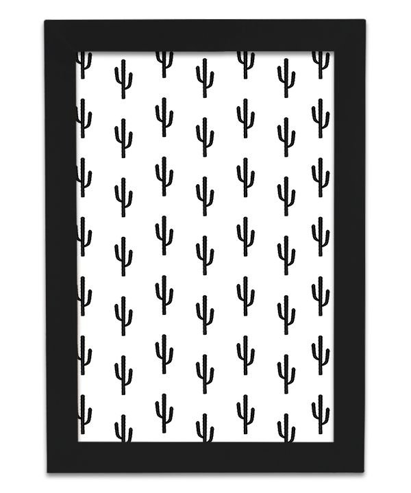 Quadro Cactus Escandinavo