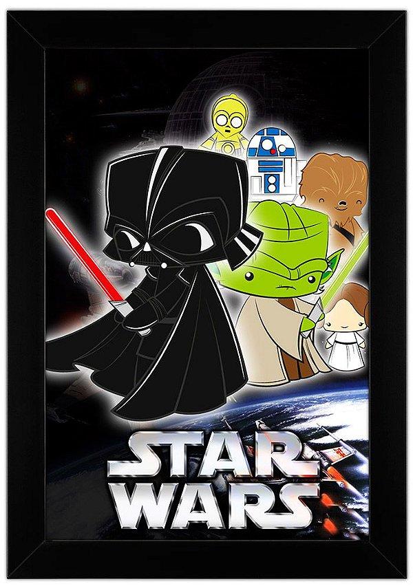 Quadro Star Wars by Toonicos
