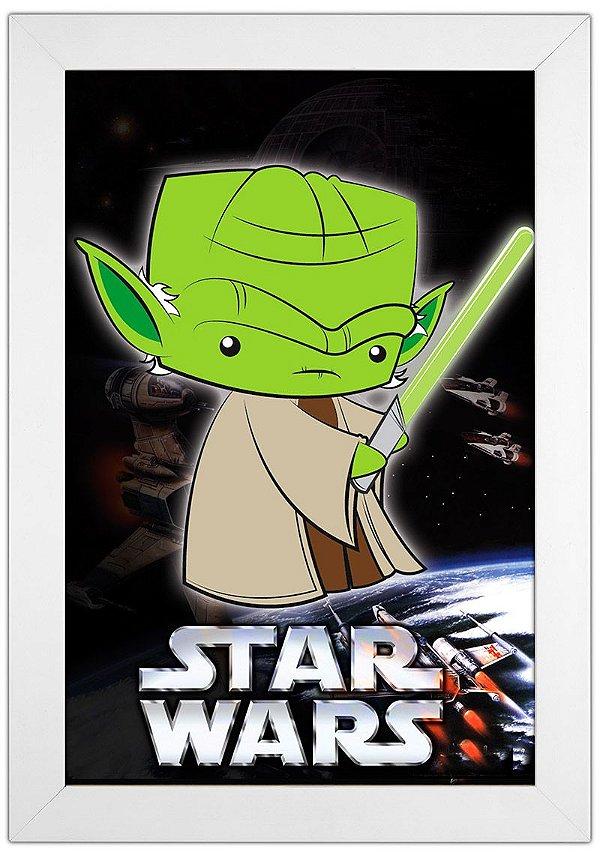 Quadro Mestre Yoda by Toonicos