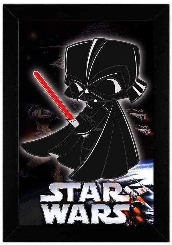 Quadro Darth Vader by Toonicos