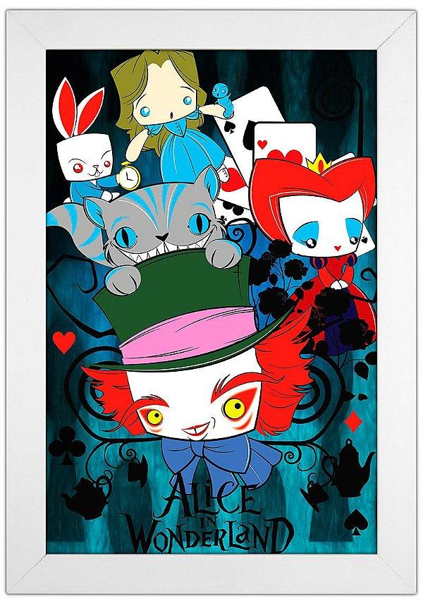 Quadro Alice by Toonicos