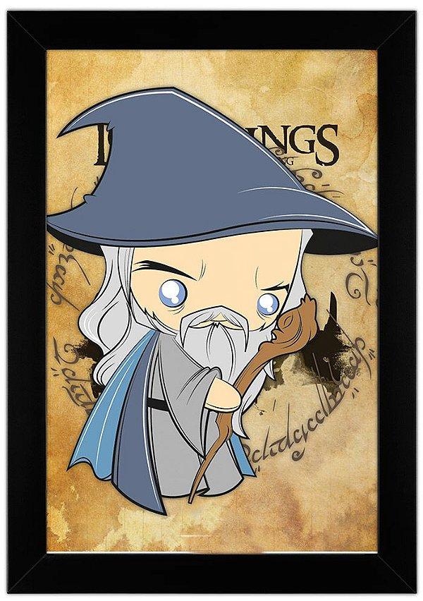 Quadro Senhor dos Anéis - Gandalf by Toonicos