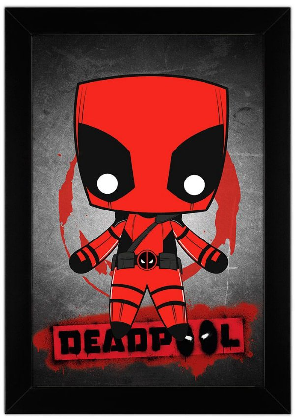 Quadro Dead Pool by Toonicos