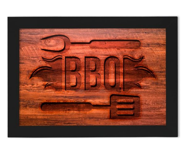 Quadro BBQ - Quadro Barbecue