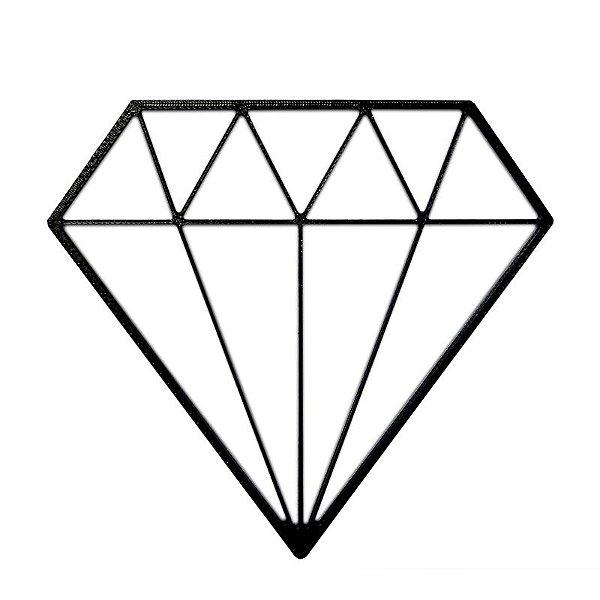 Diamante Decorativo Minimalista 3D