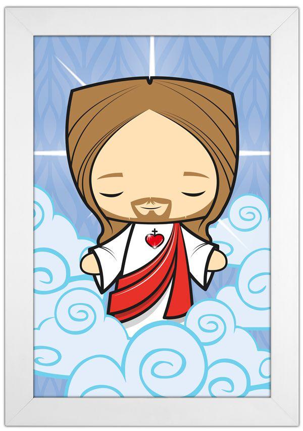 Quadro Cristão Jesus