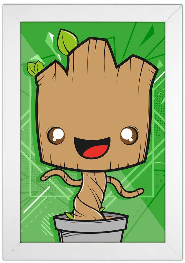 Quadro Baby Groot