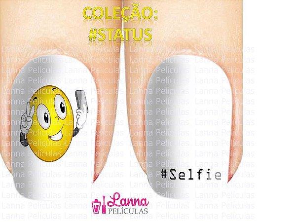 Película de Unhas Modelo #Selfie