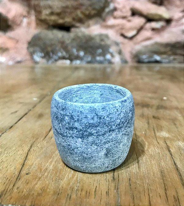 Copinho Pedra Sabão Cinza
