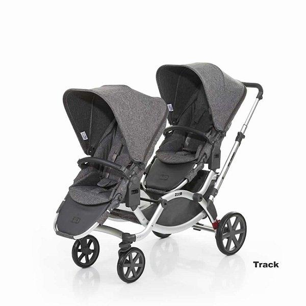 Carrinho para Bebês Gêmeos Zoom ABC Design