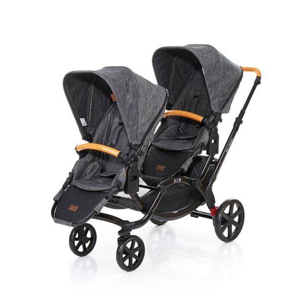 Carrinho Bebê Gêmeos Zoom Wood ABC Design