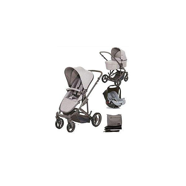 Combo Carrinho Como 4 com Bebê Conforto e Moisés ABC Design