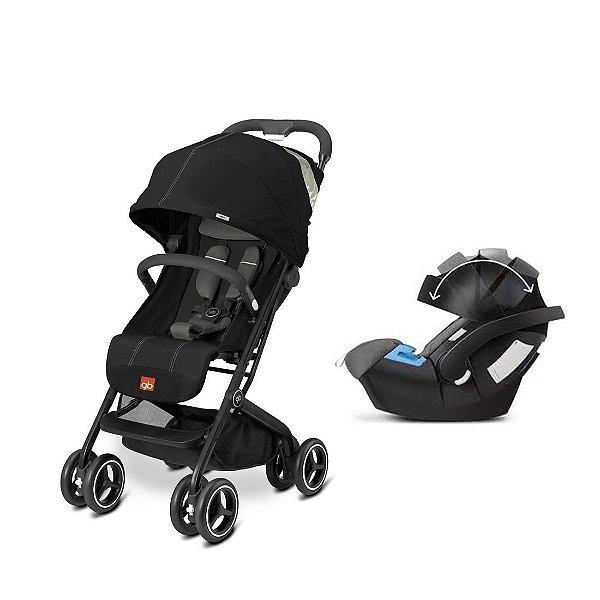 Carrinho de Bebê Qbit+ GB com Bebê Conforto Aton 5