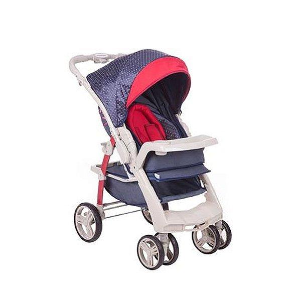 Carrinho de Bebê 4 Rodas Optimus Galzerano