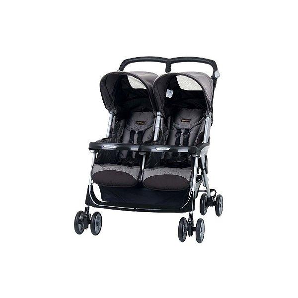 Carrinho de Bebê Gêmeos Aria Shopper Twin Peg Pérego
