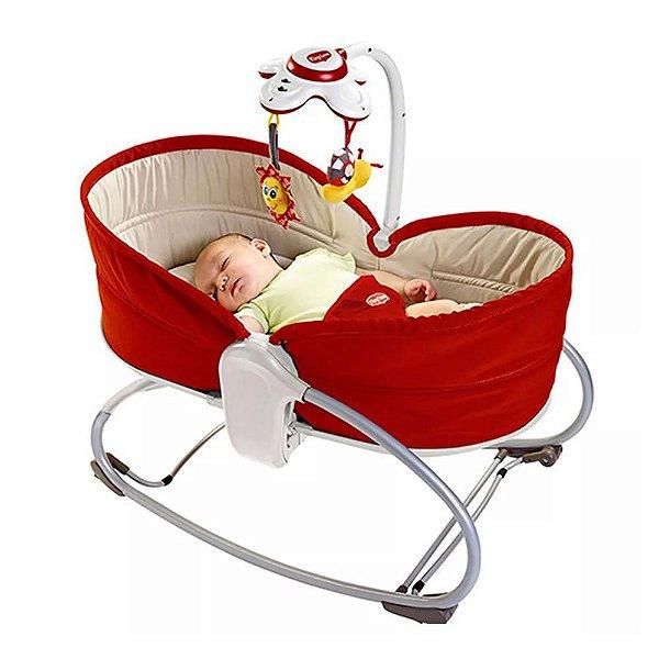 Cadeira e Berço Balanço Napper Rocker 3 em 1 Tiny Love