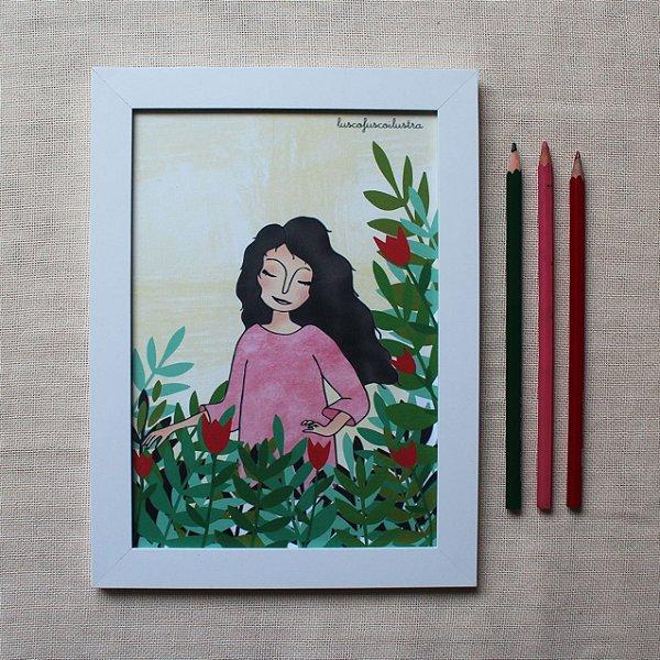 Quadrinho Flora
