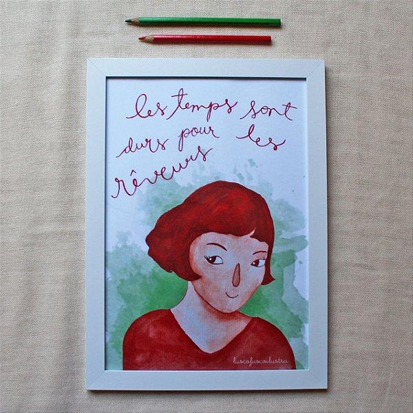 Quadrinho Amélie