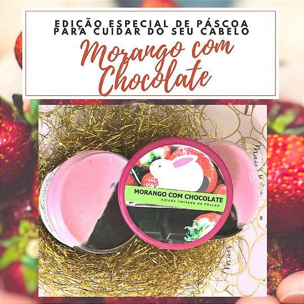 Máscara Morango com Chocolate - edição limitada