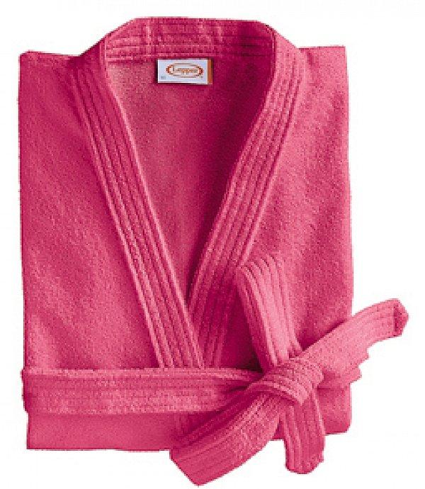 Roupão Feminino Laguna Verão Curto M Pink R.4371710 Lepper