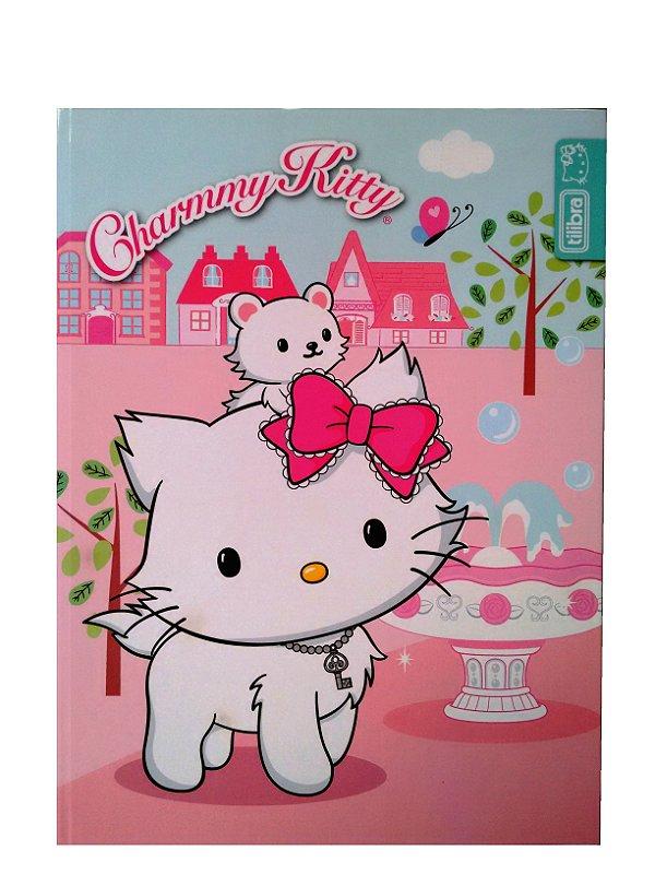Caderno Brochura Capa Dura 96 Folhas Charmmy Kitty Tilibra 118940