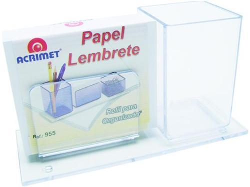 Porta Lápis E Lembrete Cristal Acrimet 938.3