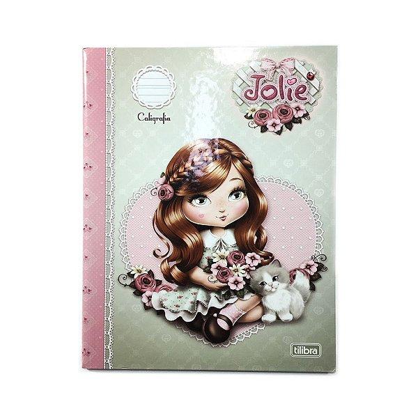 Caderno Brochura Universitário Caligrafia Jolie Capa Dura 40 Folhas 131083 Tilibra
