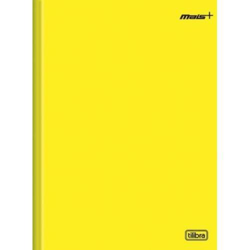 Caderno Brochura 1/4 Mais + Amarelo Capa Dura 96 Folhas 116726 Tilibra