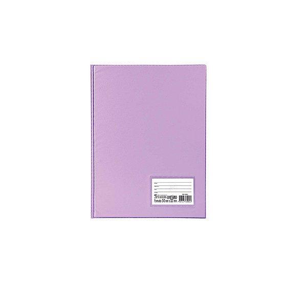 Pasta Catálogo A4 Com 10 Envelopes Finos Lilás Dac 1028LI