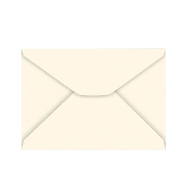 Envelope Carta 114x162 Creme Com 100 Unidades R.18.2464 Foroni