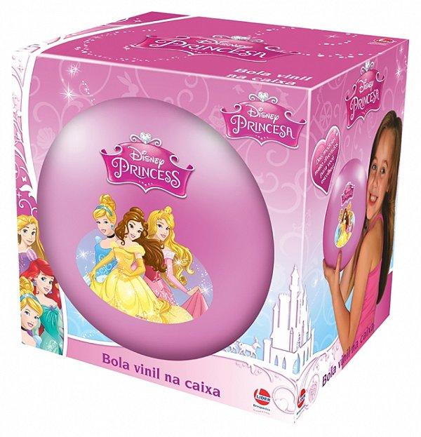 Bola De Vinil Na Caixa Princesas Disney R.565 Lider