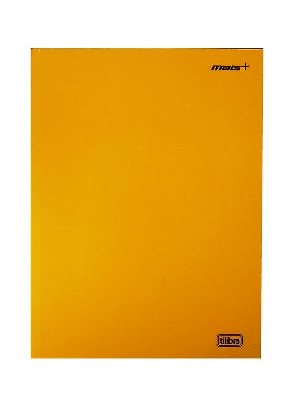 Caderno Brochura Universitário 48 Folhas Capa Dura Mais+ Amarelo R.116769 Tilibra