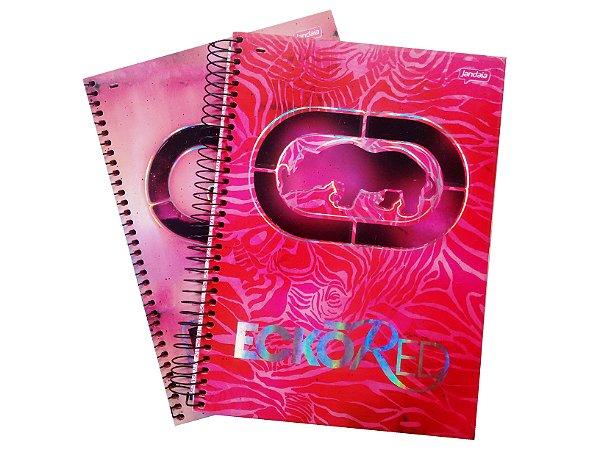 Caderno Universitário 10x1 Ecko Red R.51351 Jandaia
