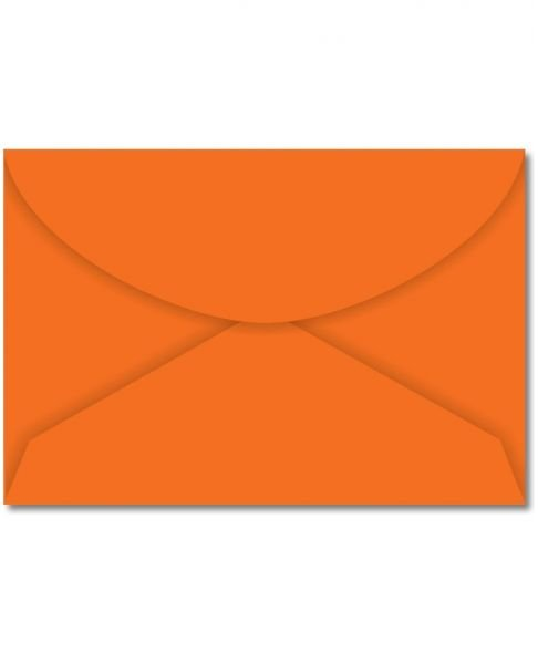 Envelope Visita 72x108 Laranja Cartagena Com 100 Unidades R.18.2499-5 Foroni